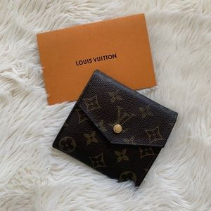 Louis Vuitton Monogram Double Sided Compact Wallet